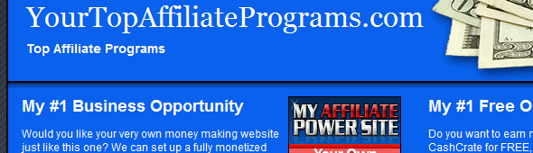 Your Top Affiliate Programs